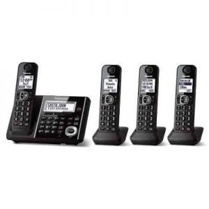 The Best Multi Handset Cordless Telephone - Enjoy crystal clear conversation even at 246 feet away from the base station