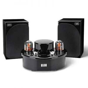 The Bluetooth Vacuum Tube Stereo - A stereo system that utilizes a vacuum tube amplifier to provide superior audio performance