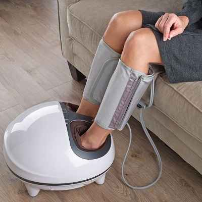 The Circulation Improving Foot and Calf Massager