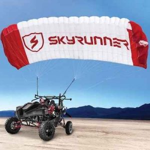 The Flying All Terrain Vehicle - The first vehicle of its kind approved for ground and flight engines
