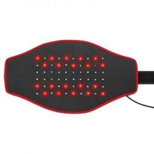 The Heated LED Back Pain Reliever - relieves pain and stiffness in the back effectively