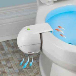 The Motion Sensing Toilet Bowl Odor Eliminator