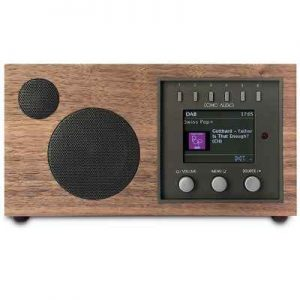 The Broadcast And Internet Streaming Radio - A tabletop appliance that tunes into AM/FM broadcasts and internet radio streams