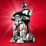 The Ride On Robotic Armor - A ride on that allows child to become a robot