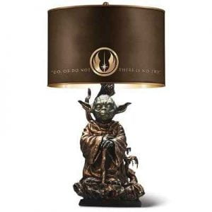 The Yoda Table Lamp - A lamp designed to save one from the dark side