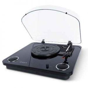 The Bluetooth Transmitting Turntable - Now you can wirelessly stream your favorite music to any Bluetooth speaker