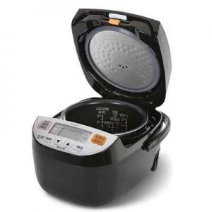 The Quinoa And Rice Cooker - An all-in-one rice cooker that takes the guesswork out of making quinoa, brown rice, white rice, and long grain rice