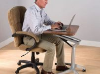 The Sitting Or Standing Mobile Workstation
