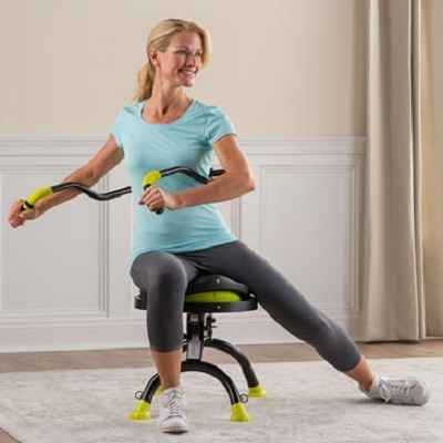 The Seated Back Strengthener 1