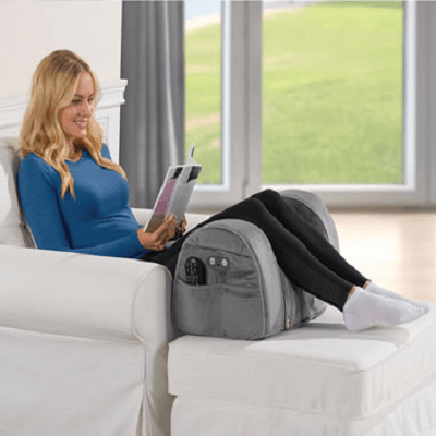 The Spinal Alignment Massaging Leg Rest
