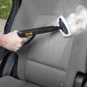 The Automotive Steam Cleaning System - specifically designed for cleaning the interior and exterior of an automobile