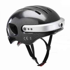 The Smarter Bike Helmet - A  bicycle helmet that records video, receives phone calls, and plays music through a built-in Bluetooth speaker