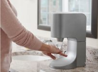 The Towel Eliminating Touchless Hand Dryer
