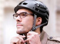 The Foldaway Bicycle Helmet