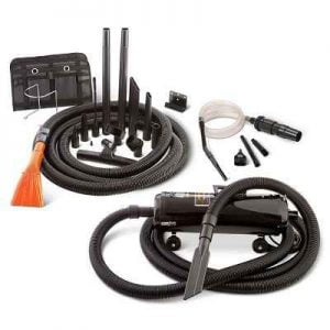 The Commercial Quality Auto Vacuum - comes with the same detailing tools used at professional car washes