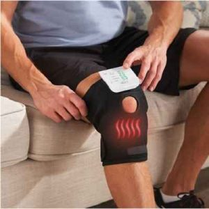 The Heated And TENS Knee Wrap - A wireless knee wrap that combines heat therapy and electrostimulation