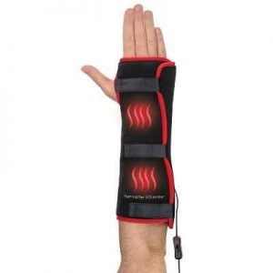 The Pain Relieving Wrist and Forearm Wrap - A flexible wrap designed to relieve pain in the wrist and forearm
