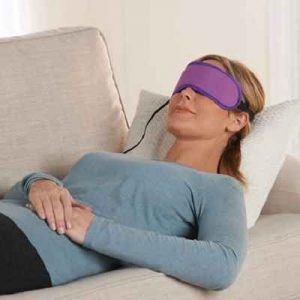 The LED Wrinkle Reducing Mask - helps get rid of crow's feet, wrinkles and frown lines around the eyes