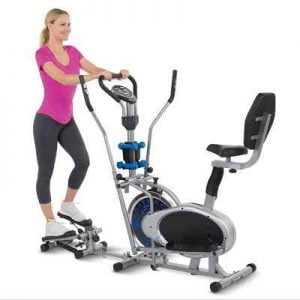 The One Machine Gym - Perfect in providing head to toe cardio and weight-bearing workout at home