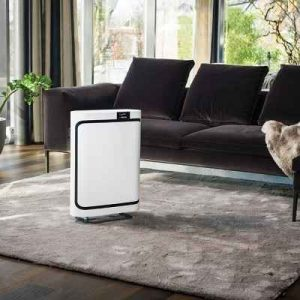 The Swiss Engineered Self Adjusting Air Purifier - Automatically senses the level of pollution in a room and adjusts its fan speed accordingly