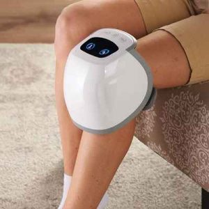 The Knee Massager with Compression - helps reduce swelling, stiffness, and knee pain effective