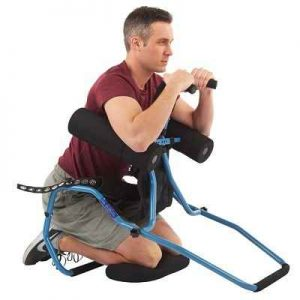 The Back Stretcher - Relieves lower and mid back pain and stiffness effectively