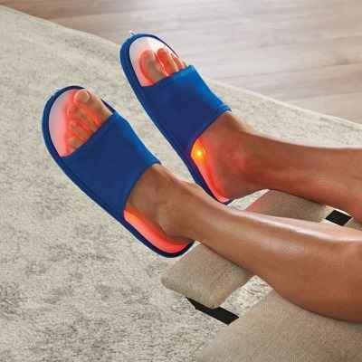 The LED Foot Pain Reliever Slippers 1