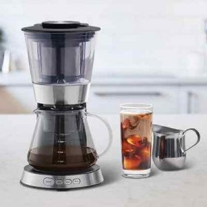 The Fast Cold Brew Coffee Maker - A coffee machine that makes cold brew coffee in as little as 25 minutes