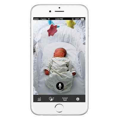 The Award Winning Vitals Sensor Camera Baby Monitor 1