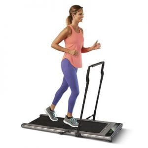 The Ultraslim Treadmill - equipped with bipolar drive technology so you can jog and walk smoothly and efficiently