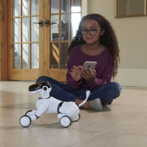 The Voice Controlled Robodog - A touch-sensitive robotic puppy that obeys smartly to your commands