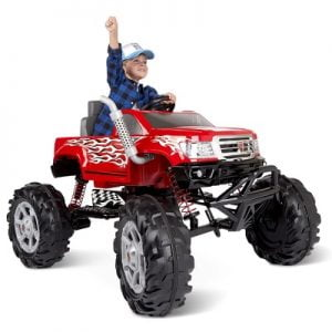 The Children's Ride On Monster Truck - takes young riders on big-wheeled adventures