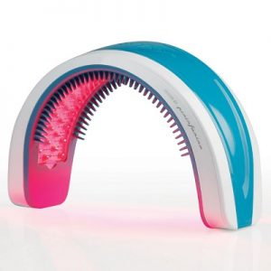 The Hands Free Hair Rejuvenator - a cordless hands-free headband capable of treating hair loss