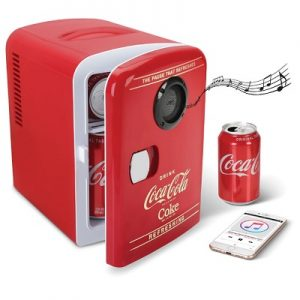 The Bluetooth Speaker Coca-Cola Refrigerator - A mini-refrigerator equipped with built-in Bluetooth Speaker