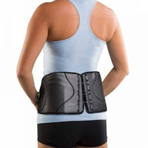 The Dial Adjust Back Brace - Now you can easily adjust the compression and support to help relieve lower back pain