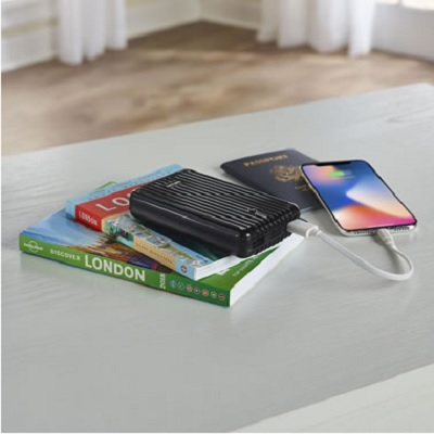 The Heavy Duty 6X Backup Battery - A durable backup battery that can recharge a smartphone up to six times on a singl...