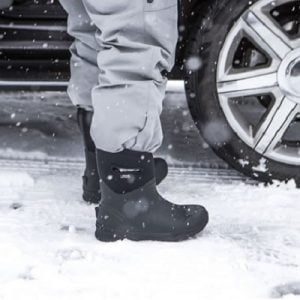 The Subzero Waterproof Boots - keeps feet warm and dry to 72 degrees Fahrenheit
