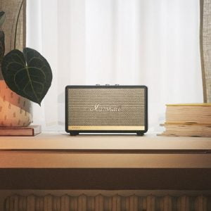 The Alexa Enabled Marshall Speaker - A bluetooth speaker with built-in Alexa