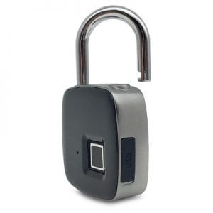 The Instant Biometric Lock - requires only a fingerprint to grant access to valuables
