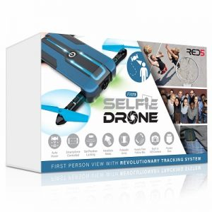Red5 Selfie Drone - with great selection of system design to make flights even easier