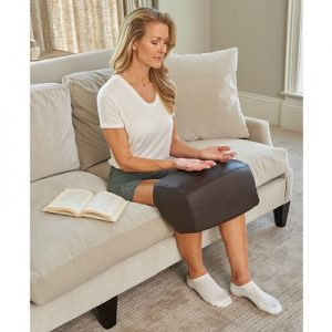 The Heated Compression Massager for Both Knees - helps get rid of knee swelling, stiffness and pain