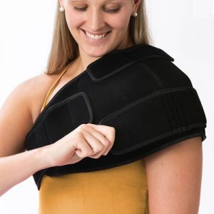 The Pain Relieving Cold Compression Wraps for Shoulder - ideal for easing the pain and inflammation caused by arthritis or tendinitis