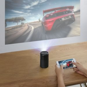 The Award Winning Cinema Projector - A cordless pocket projector that transforms any room into a personal theater