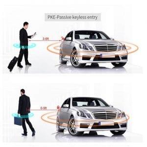EasyGuard EC002-T2 - Car PKE Keyless Entry, Remote Engine Start, Car Alarm System