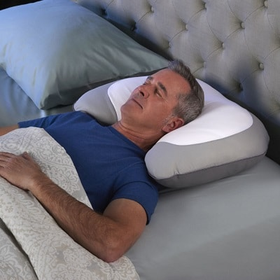 Snore-Reducing-Memory-Foam-Pillow-1