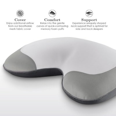 Snore-Reducing-Memory-Foam-Pillow