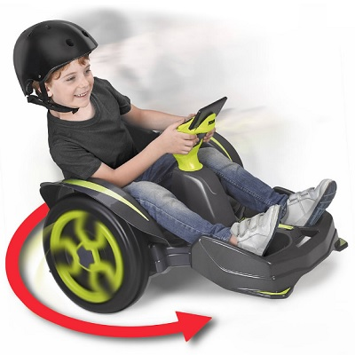 360 Degree Spinning Electric Buggy