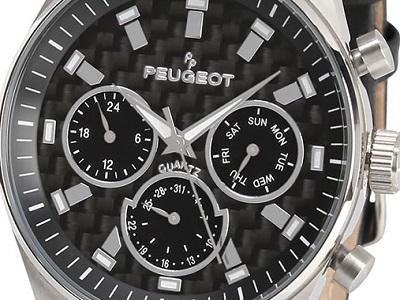 Carbon Fiber Peugeot Watch 1