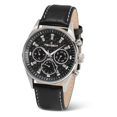 Carbon Fiber Peugeot Watch