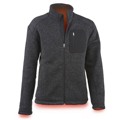 Heated Sweater Fleece Jacket